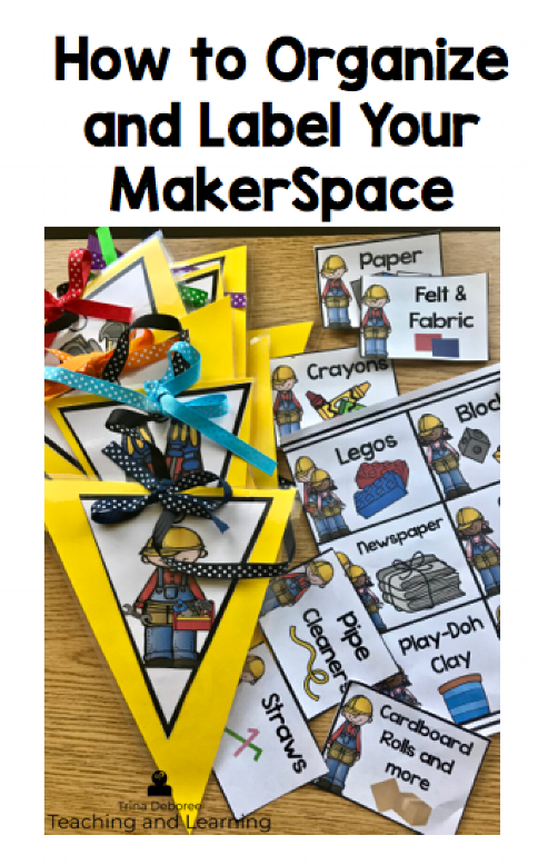 How To Organize and Label Your Makerspace