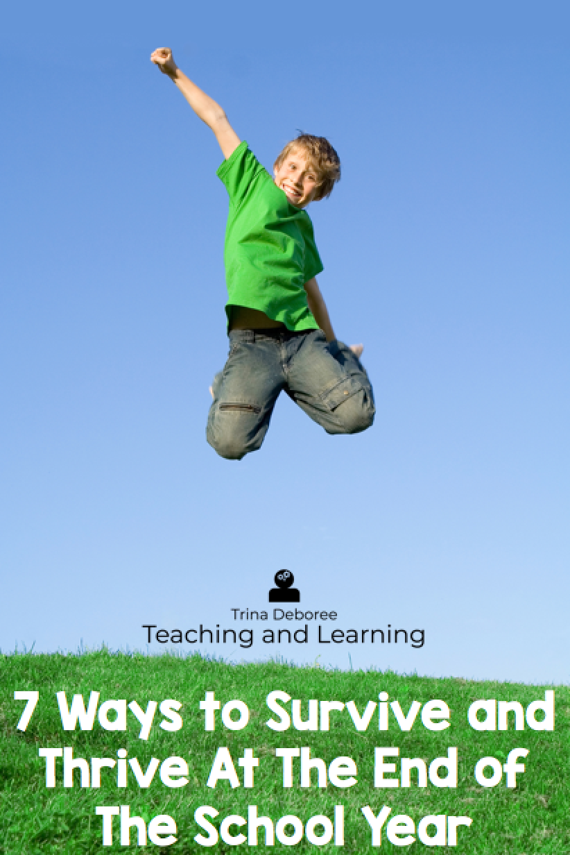 7 Ways to Survive and Thrive at the End of The School Year Incentive
