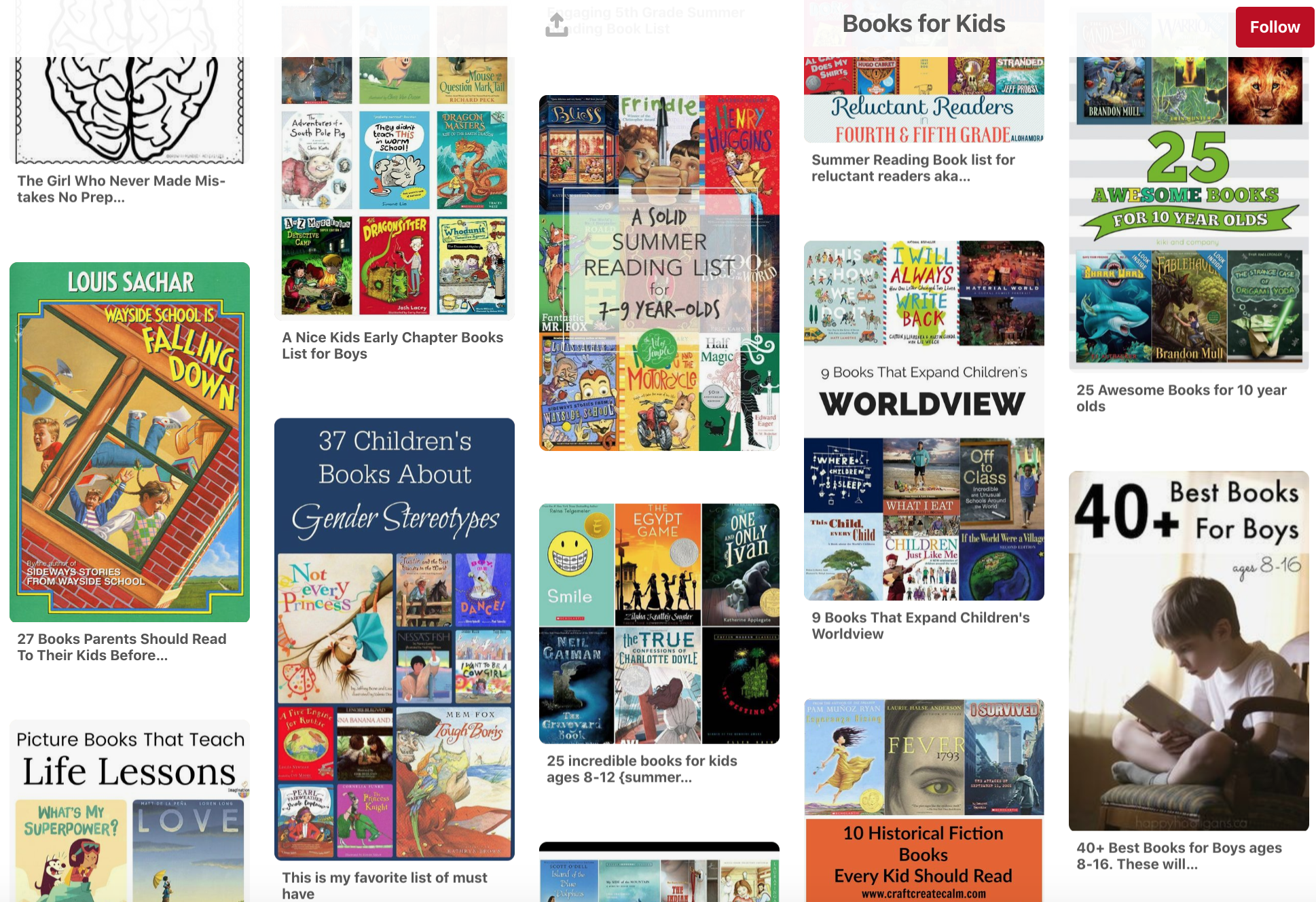 Great titles and recommendations for all ages. Filled with book ideas!