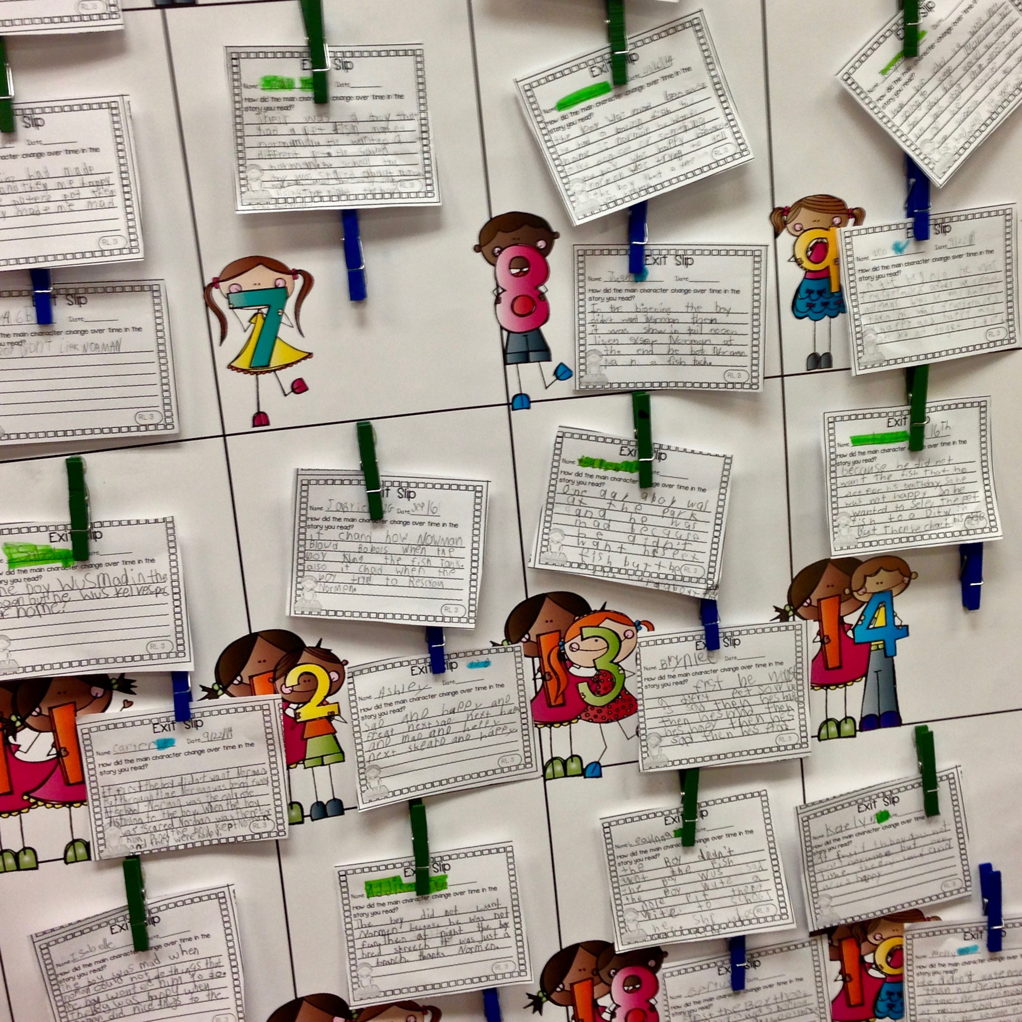 Standards-Based Assessment with Exit Tickets and Graphic Organizers are a quick and easy assessment option to help the busy teacher determine who mastered the standard and who needs a little more help. #exittickets #elaexittickets #secondgrade #thirdgrade #formativeassessment #trinadeboreeteachingandlearning