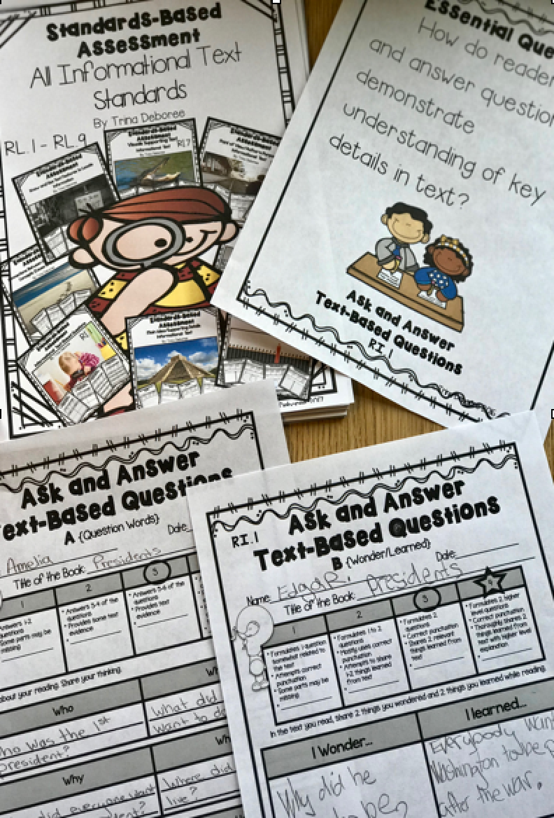 Standards-Based Assessment Informational Text