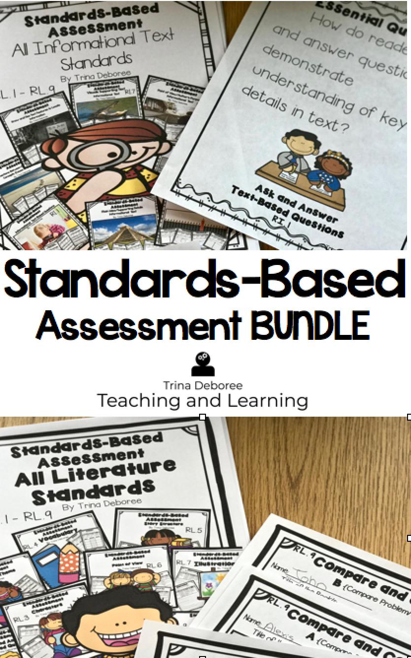 Standards-Based Assessment BUNDLE