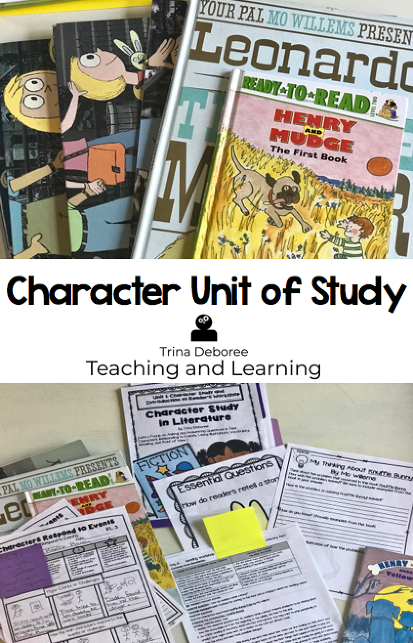 Reading Unit of Study with Characters
