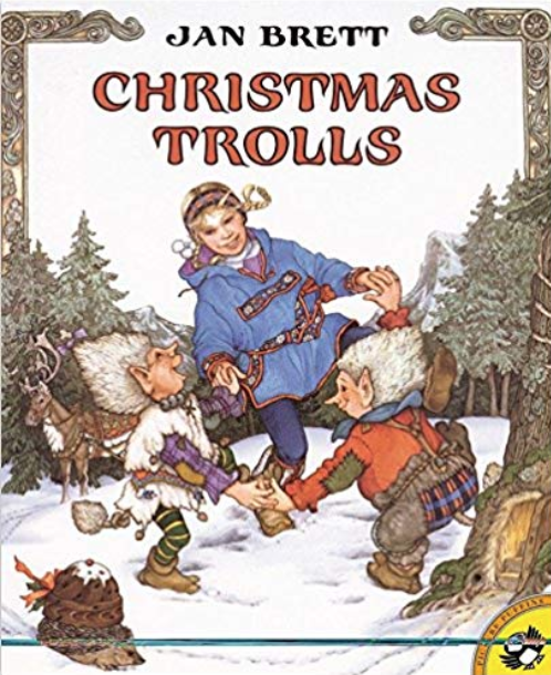 Christmas Trolls by Jan Brett - Christmas Trolls is a fun way to spend the last week doing a close read before Christmas Vacation.