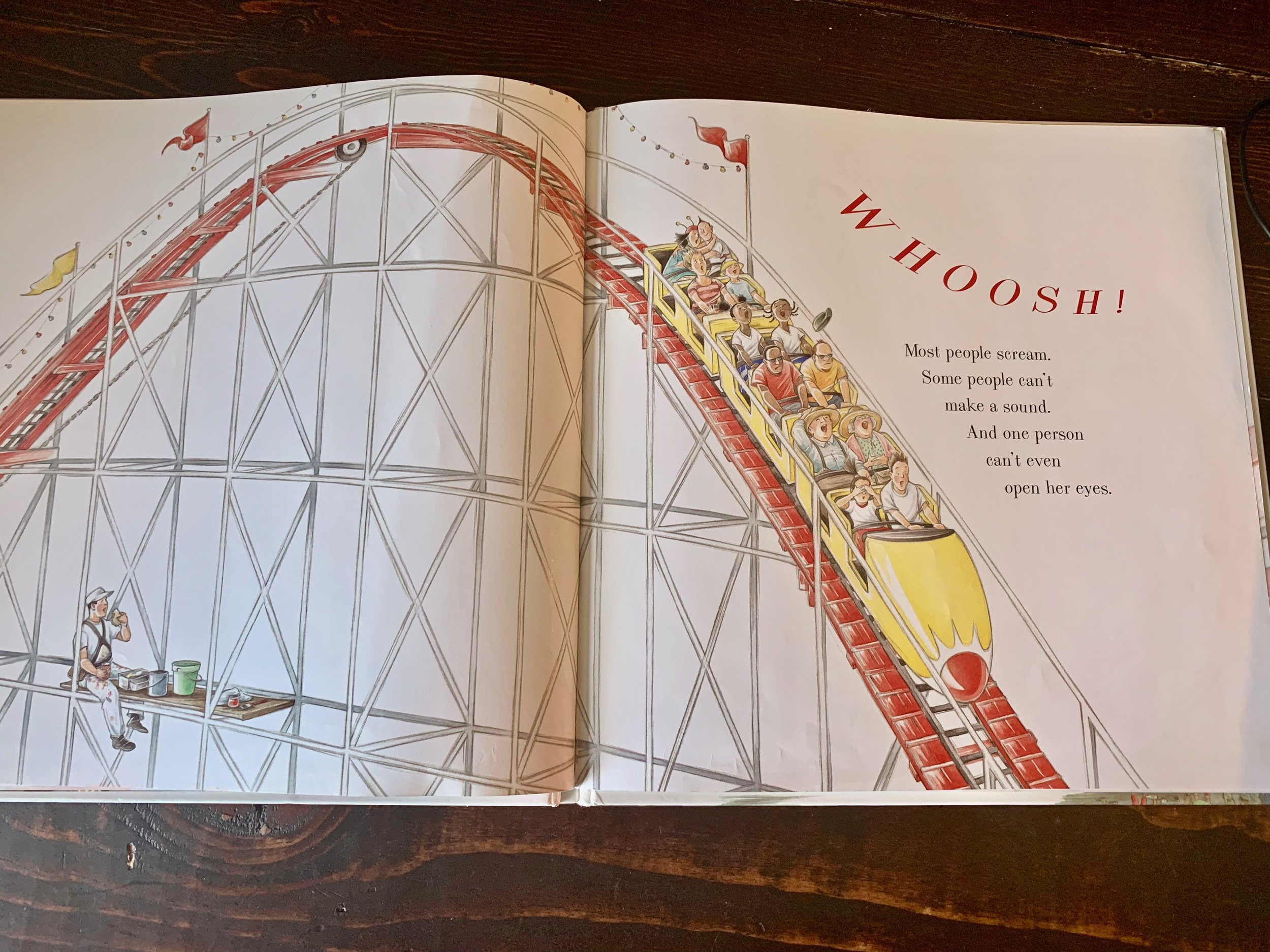 Roller Coaster by Marla Frazee great for a Makerspace Moment in Literature