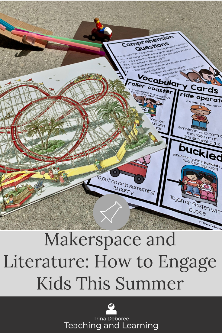 MakerSpace and Literature combines literature with creative engineering design projects. Students respond to text with close read activities as well as develop ideas to solve problems from the story. MakerSpace Moments in Literature are perfect for the elementary classroom or the library/media center.