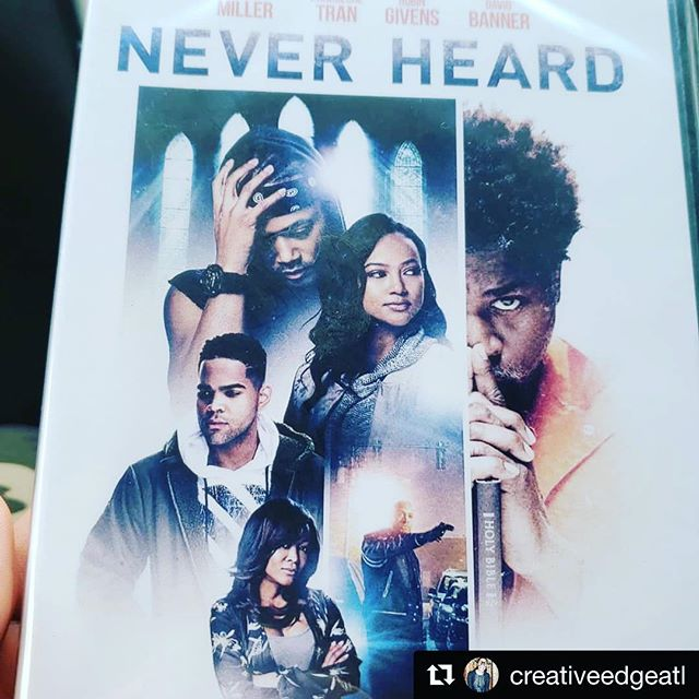 #Repost @creativeedgeatl ・・・ It pays to know people in high places! 🙌🏾Got my official #NeverHeard movie DVD straight from the man himself. Thank you very much @davidbannerlikespictures  Go grab that new @neverheardmovie CD!!! #clients #privileged #thankyou #honored #hewouldntsignitthoughLOL