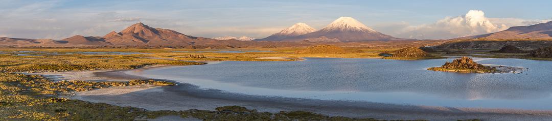 Foto 3 Toma panorámica para mostrar la inmensidad y belleza de nuevos lugares que se pueden encontrar en el altiplano ariqueño, en este caso a metros de las rutas principales.
