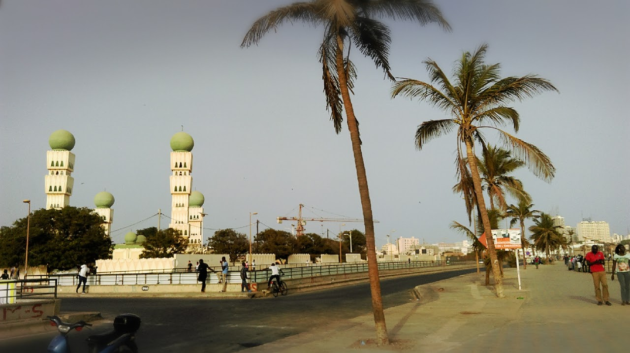 View from the Monument du Millenaire, Dakar, Senegal