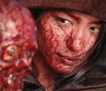 Photo: From the movie: Vampire Girl vs. Frankenstein Girl