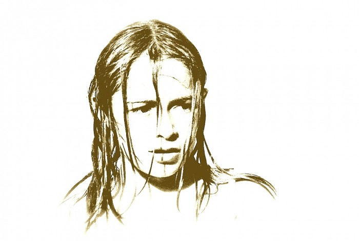 Photo taken August 1974, age 11, by trafficker, months before release from the network.