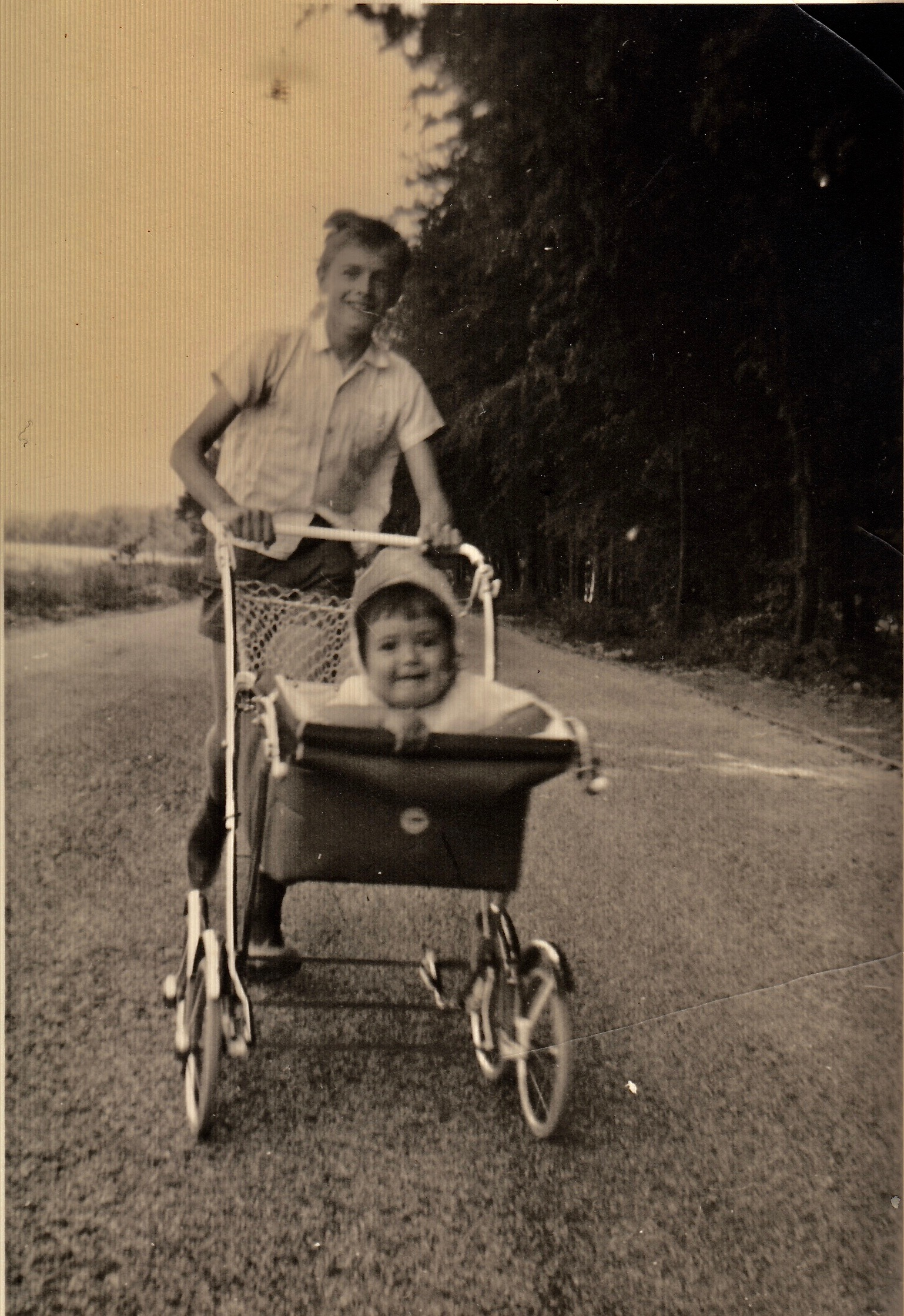 1964, with one of my uncles