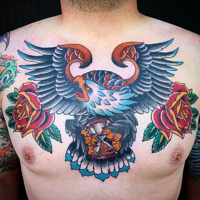@brandonlewistattooer is a machine.  A tattoo machine. 😬