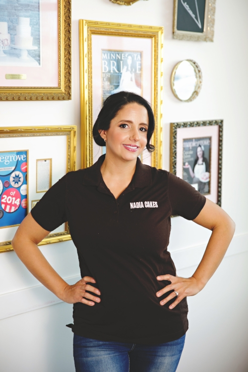 Abby Jimenez of Nadia Cakes in Maple Grove, Minnesota