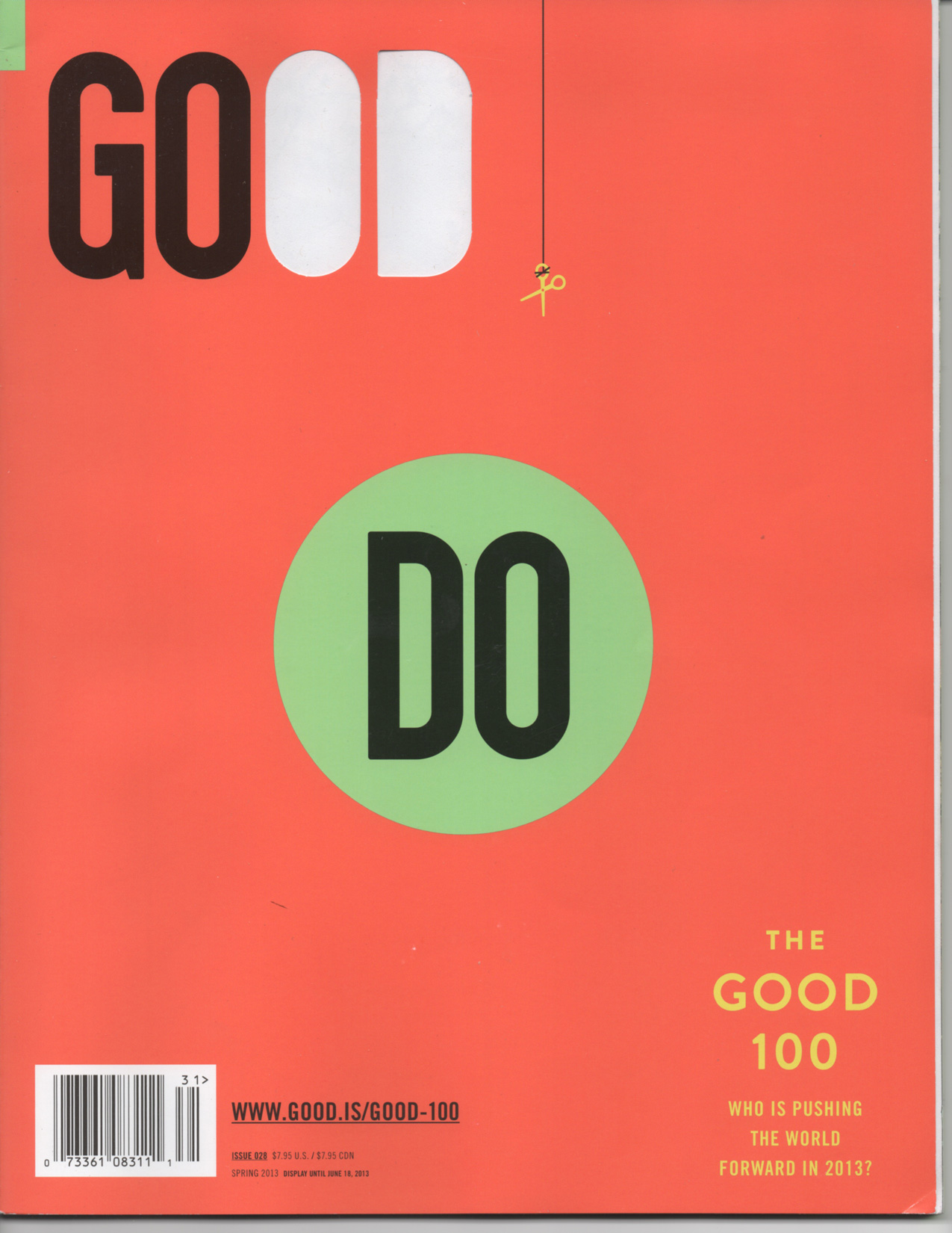 GOOD Magazine Cover Issue 28