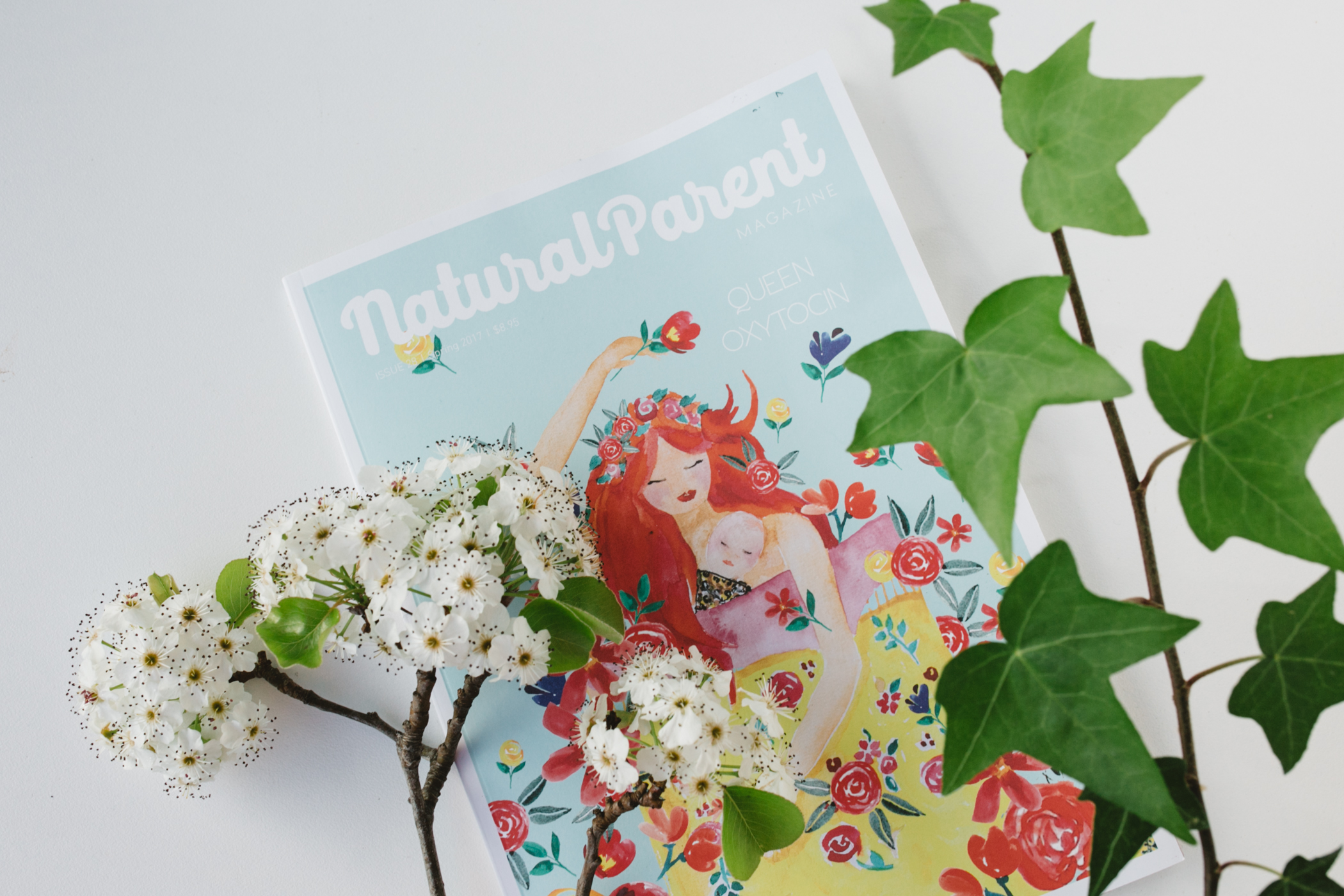 Come and check out the latest number of  The Natural Parent Magazine .