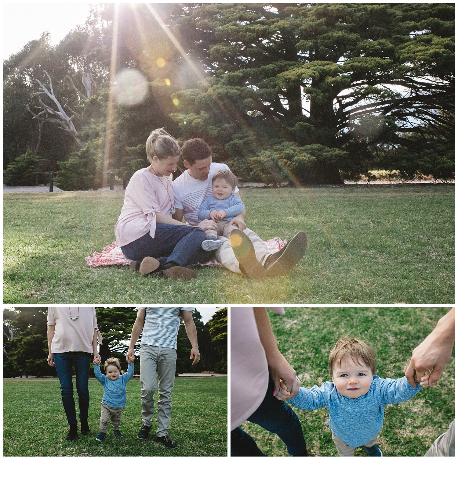 Bayside toddler photos and family