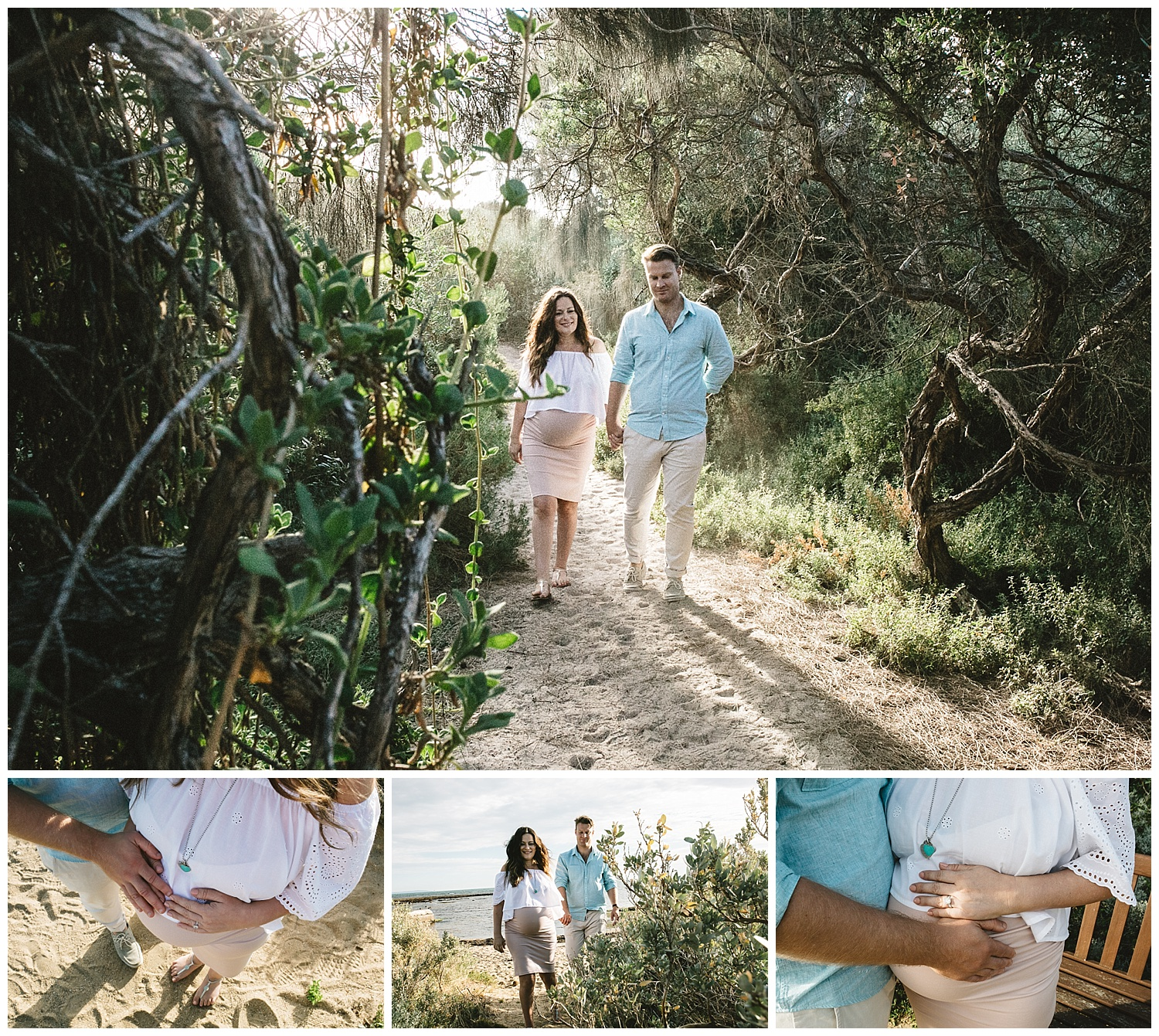 elwood is a great location for a maternity photogrpahy session and newborn