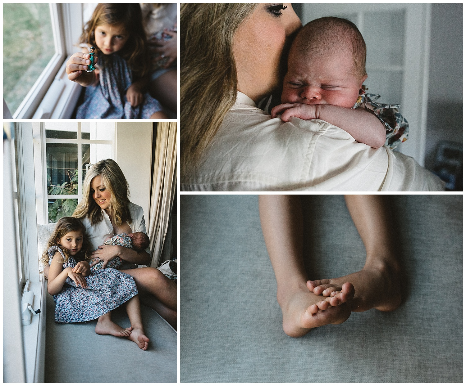 Pregnancy photography in melbourne and South melbourne. Details of foot and mum with baby
