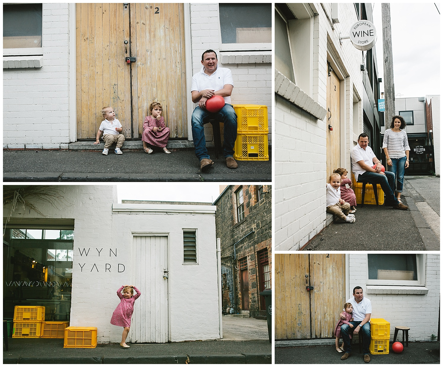 lifesyle family photography in Port melbourne, toddlers and young kids in coffee shops