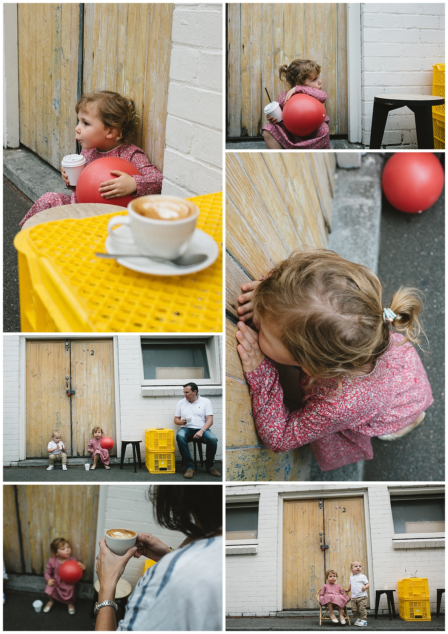 Elwood coffee shops for toddler and baby. Family photogaphy in Melbourne