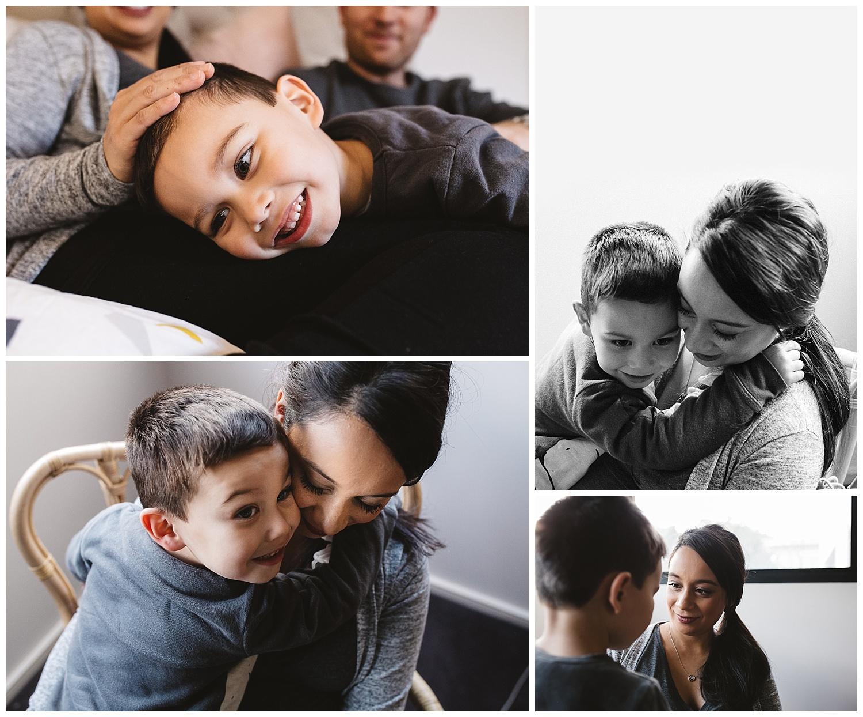 motherhood photography in melbourne, st kilda maternity photography