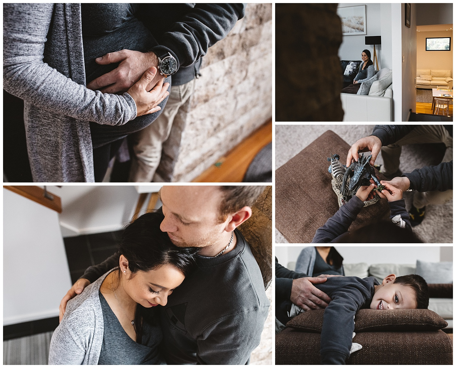 Bayside newborn photography in home session let's tell your story