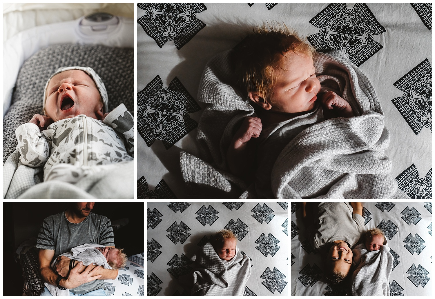baby brother and toddler photography in Dromana