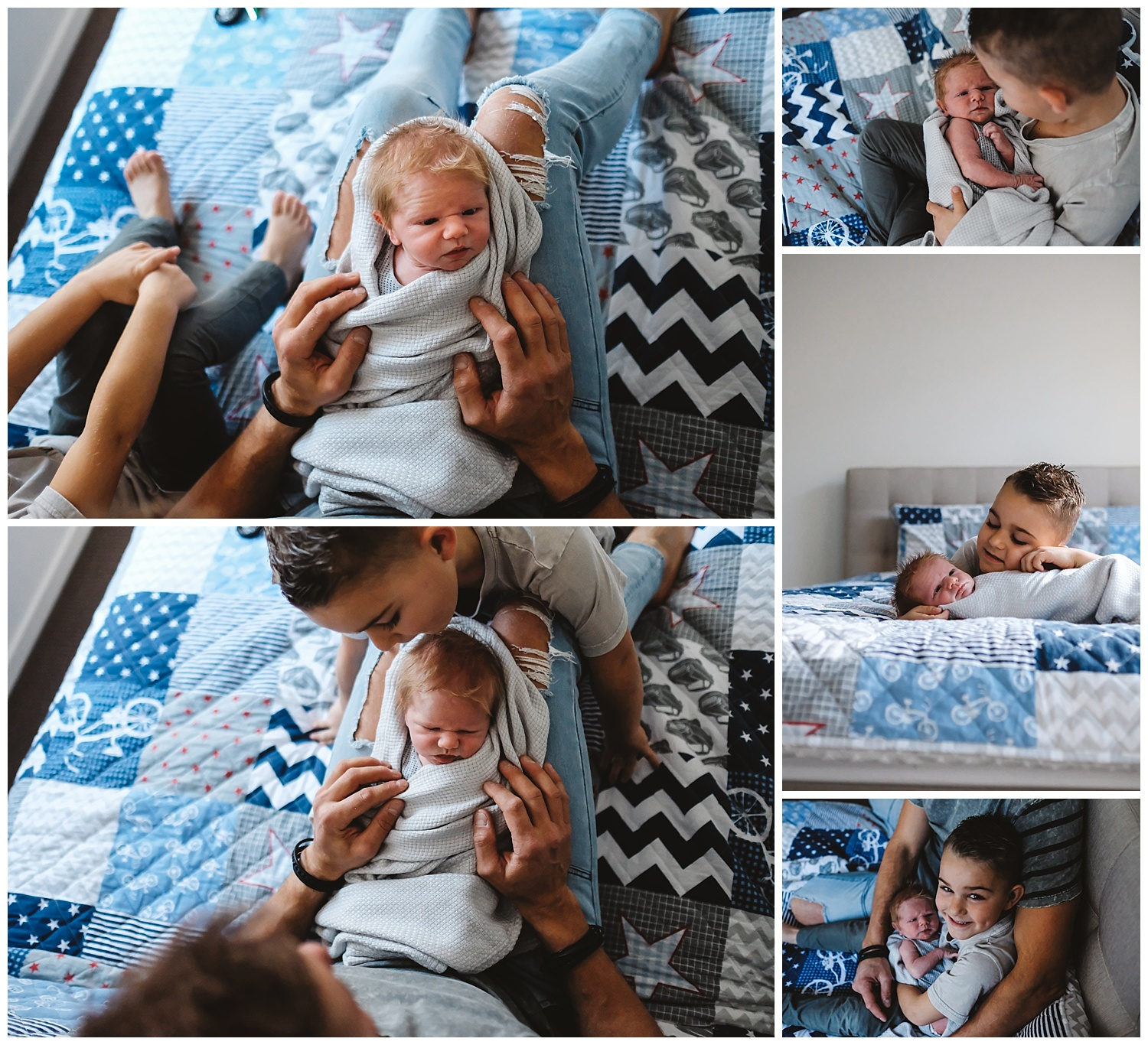 relaxed and fun afternoon at home with your newborn