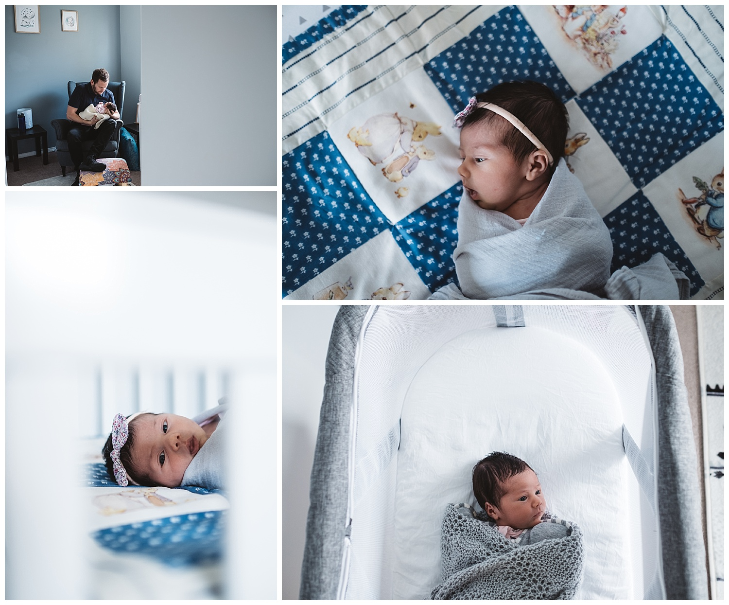 Lifestyle newborn photography in South Melbourne