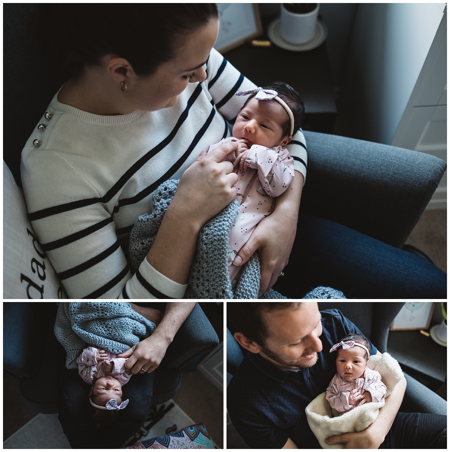 Newborn and family portraits in Glen Waverly