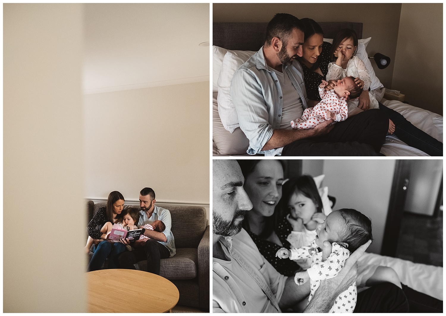 Bentleigh family photogrpaher and baby portraits