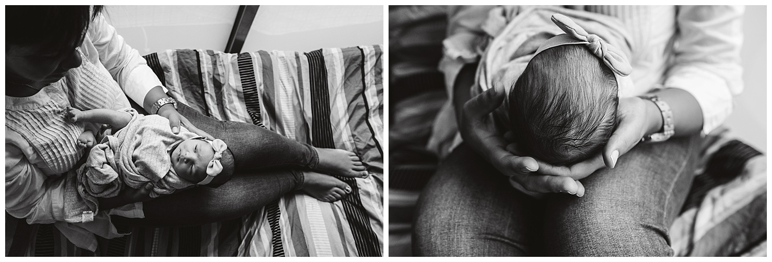 Natural light photography of newborn and mothers at home. Family lifestyle photos in melbourne
