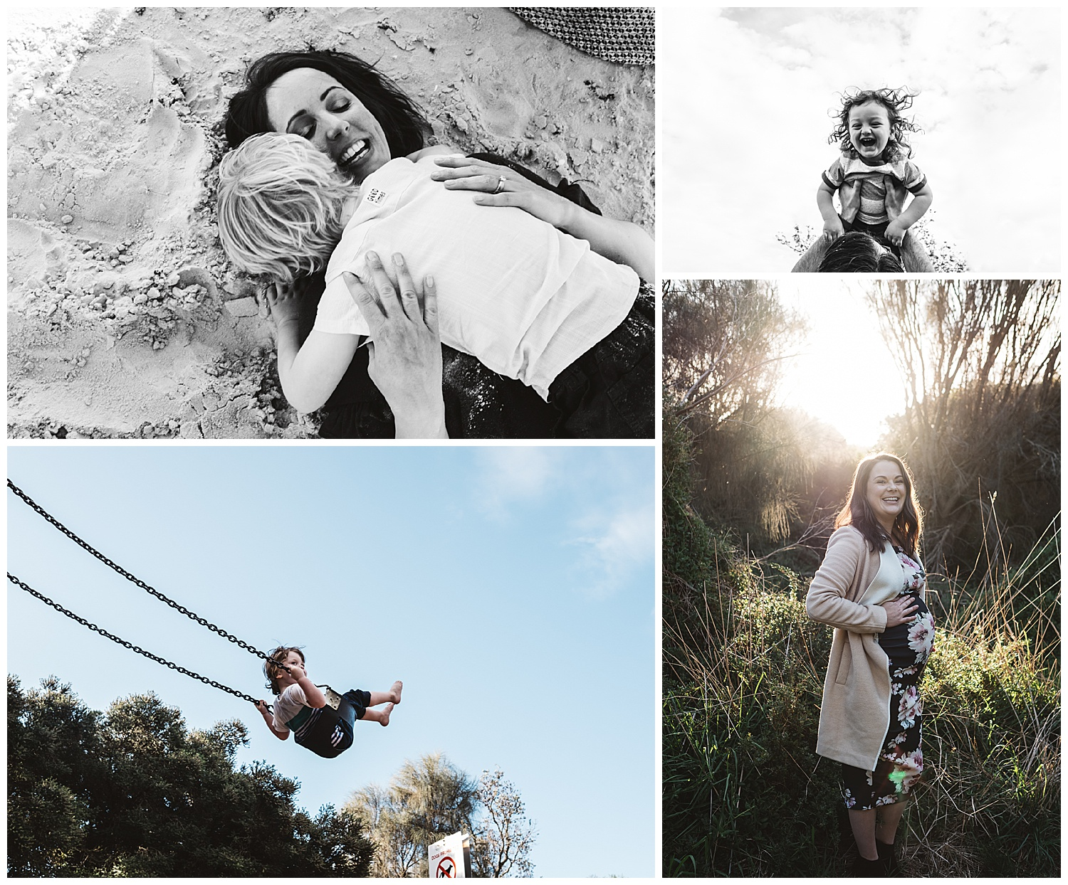 Melbourne family photography at the beach
