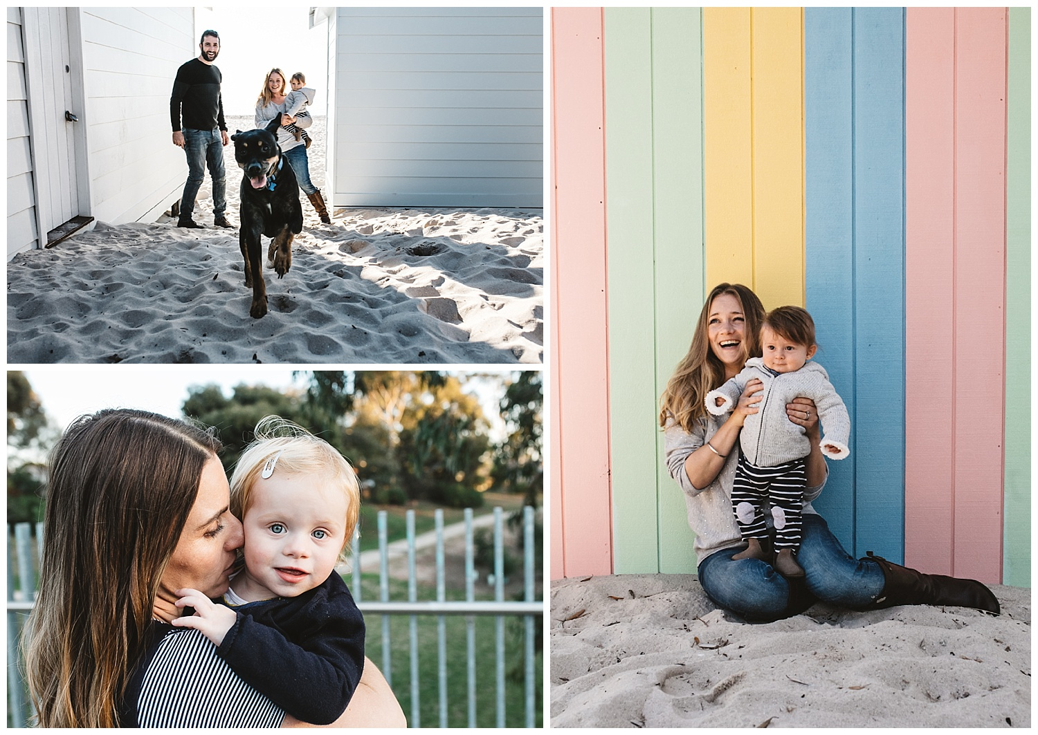 Family photography in Bayside Melbourne and St kilda family portraits