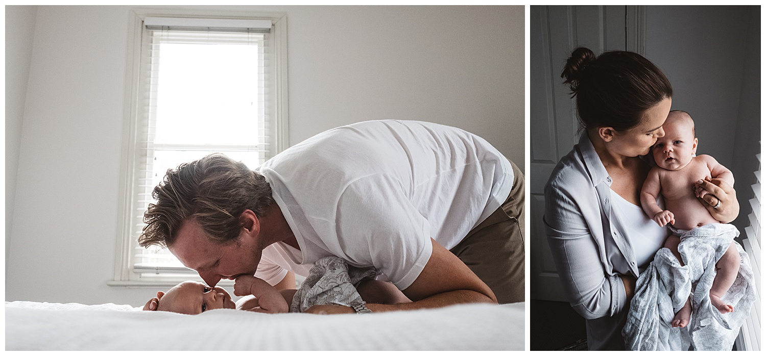 Lifestyle newborn photography and family portraits in Camberwell