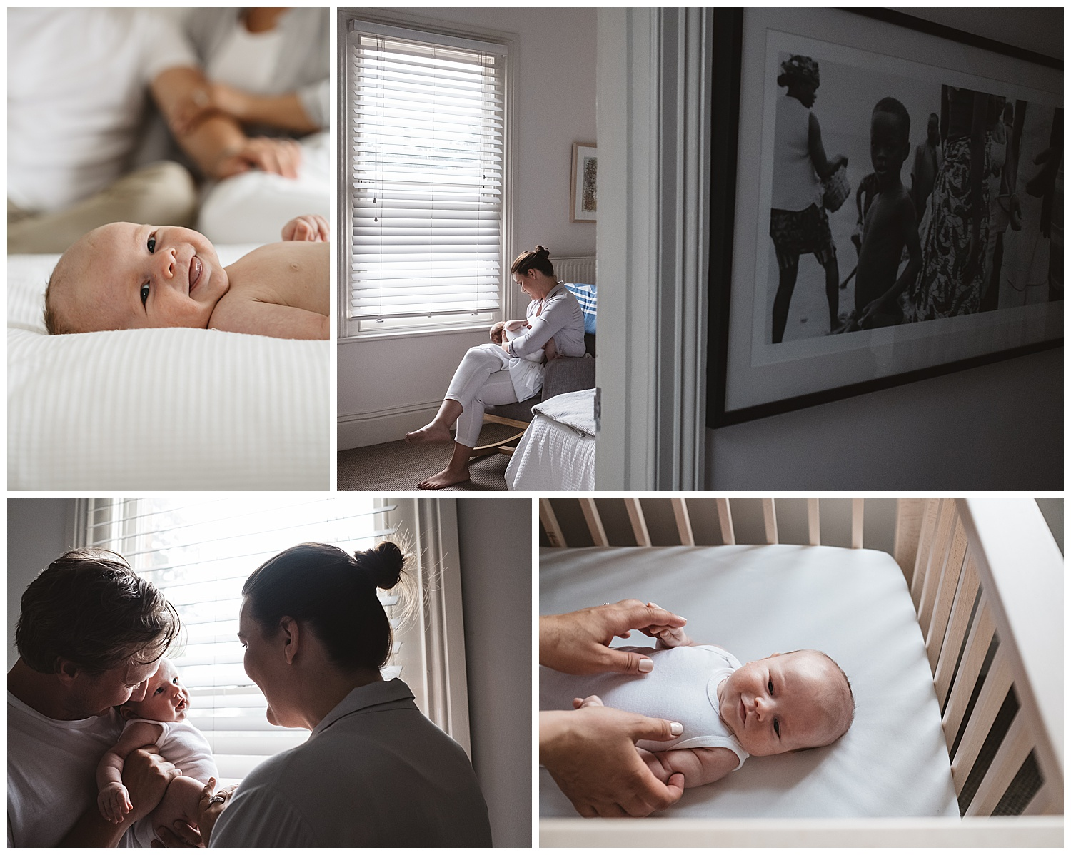 Photos of newborn babies at home, best places in your home to have photos taken