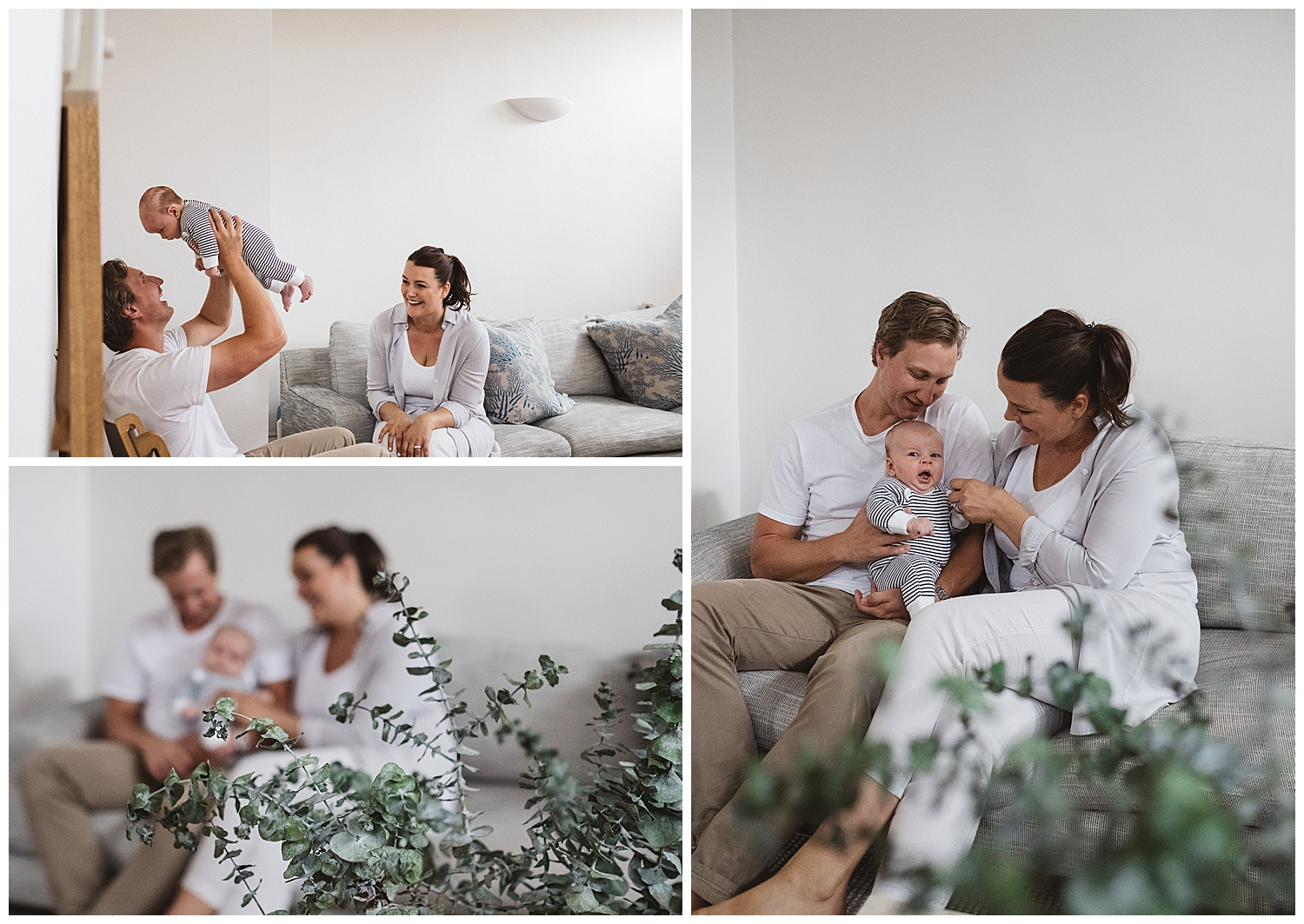 Moorabbin lifestyle newborn photography and family photography for babies and children