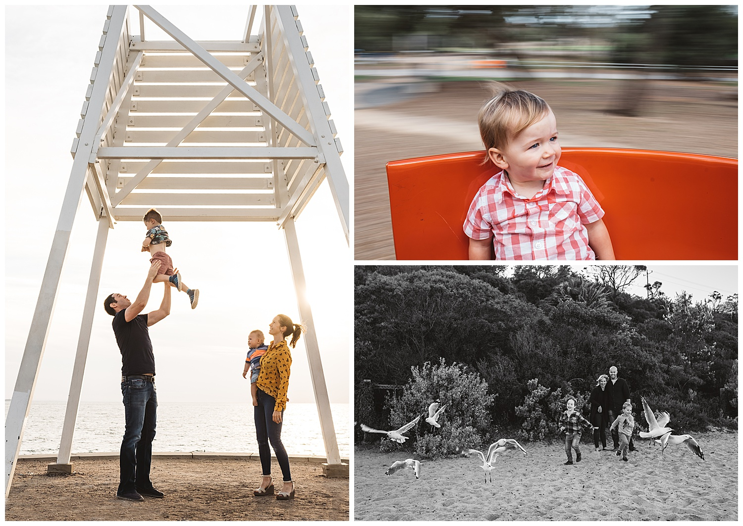 Sandringham and elwood family photography and baby photography