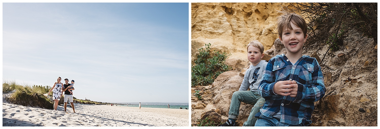 Caulfield lifestyle family and baby portraits in Malvern