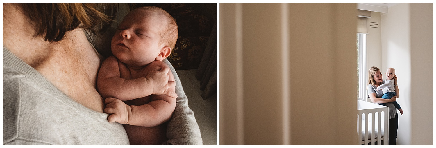relaxed photography session at home in melbourne