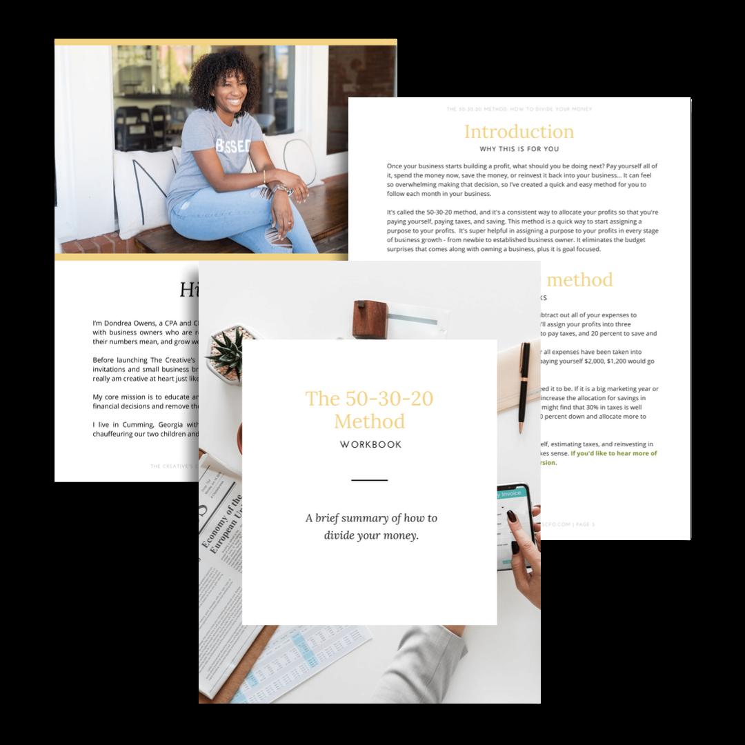 the 503020 Method Workbook _ The Creative's CFO.png