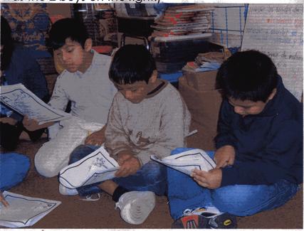 2nd and 3rd graders, Bilingual Enders-Salk School, Shaumburg
