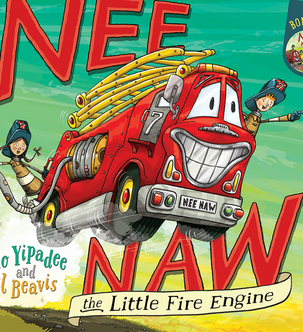 Nee Naw - The Little Fire Engine