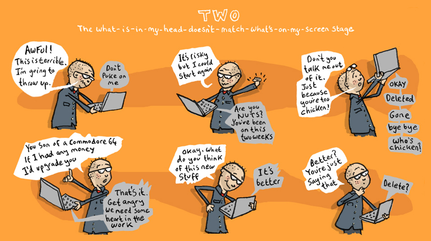 The Five Stages of Illustrating a Picture Book