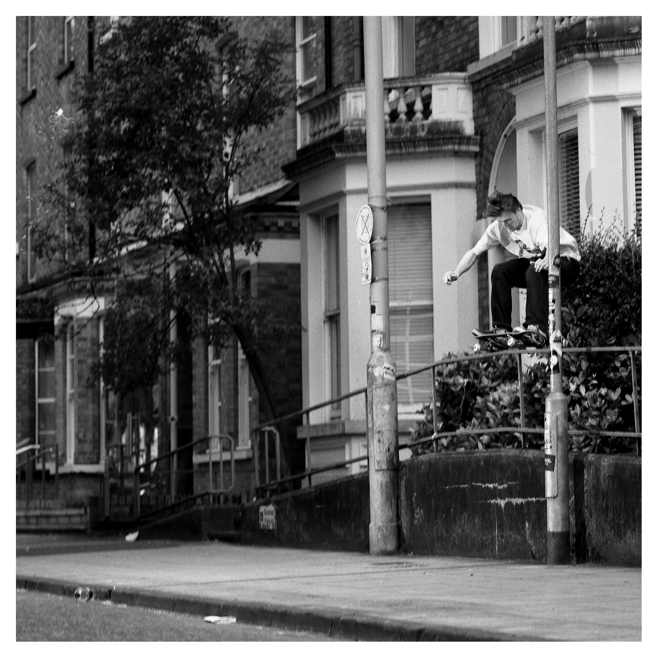 Denis Lynn 5050 - Queens University.  Published in Issue 2 of North Skate Mag.