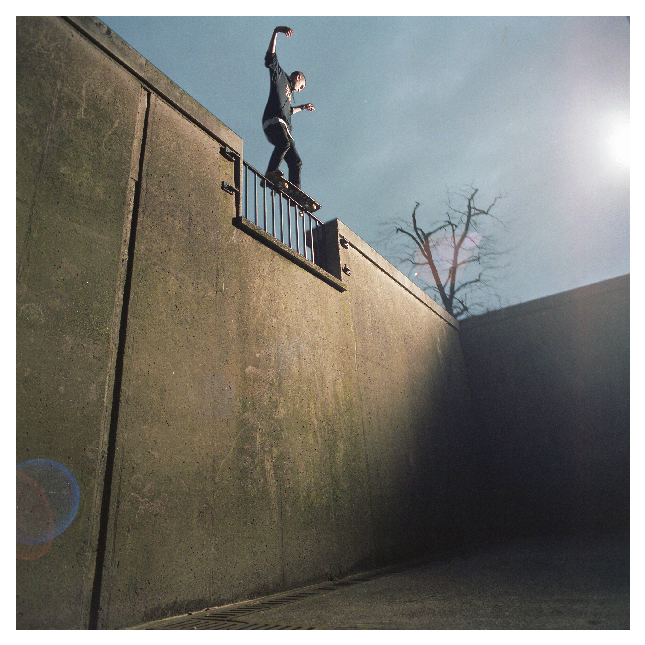 Jonny McConkey roll on 5050 of death - Queens University.  Published in issue 190 of Sidewalk for 'First Light - Jonny McConkey' article.