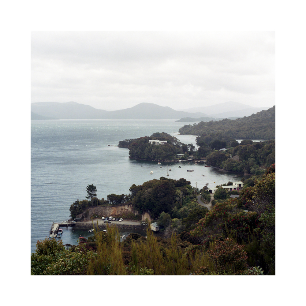 The Paterson Inlet - Oban, Stewart Island.  The Maori name for Stewart Island is ' Te Punga o Te Waka a Maui'  which is directly translated as the 'Anchor Stone of Maui's canoe'. Maui is credited with pulling the great fish of Aotearoa from the water when fishing from his brother's canoe.