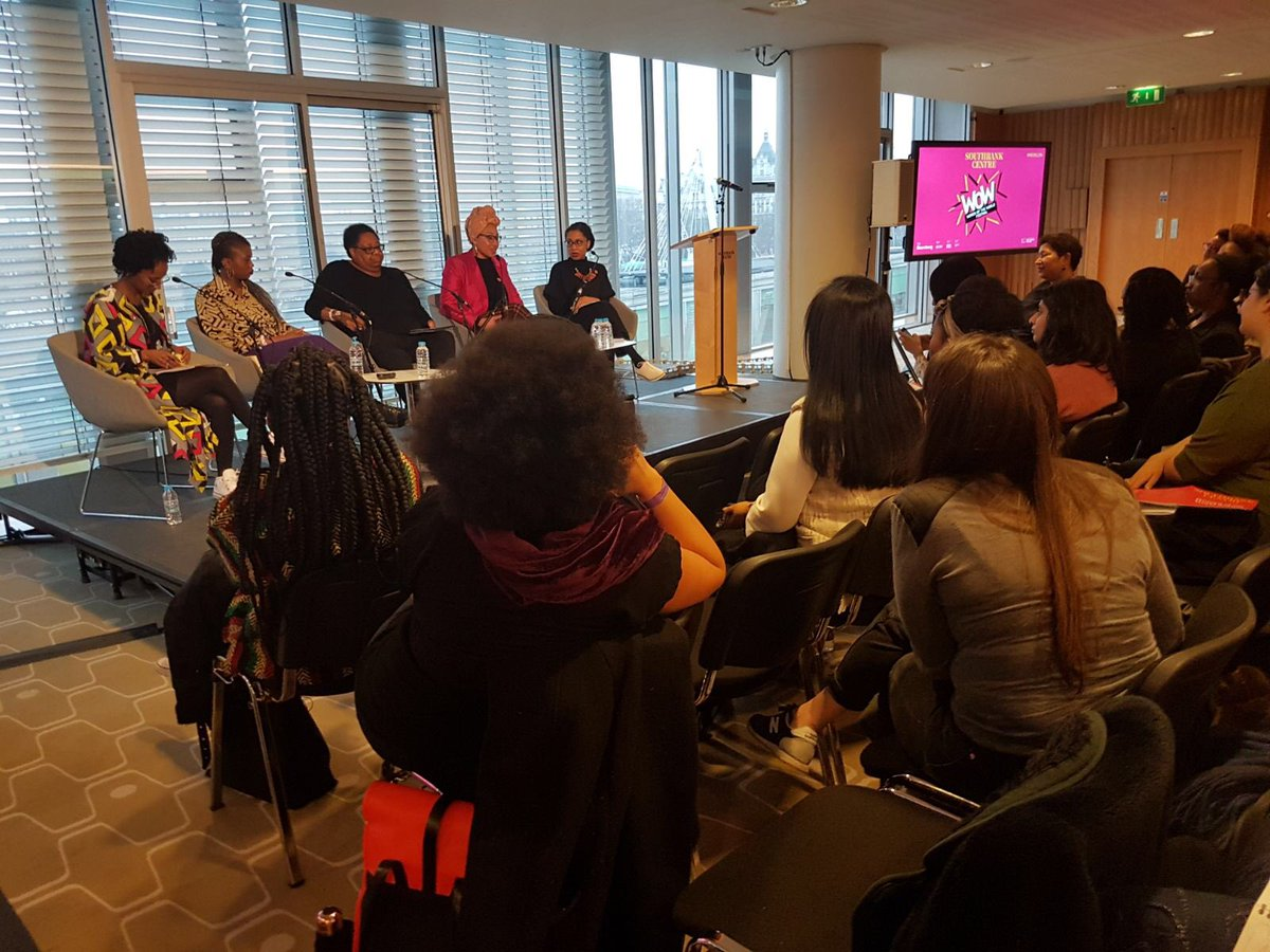 WoW panel debate 'Code-switching: how Black women of colour survive in the world of work' (Mar18)