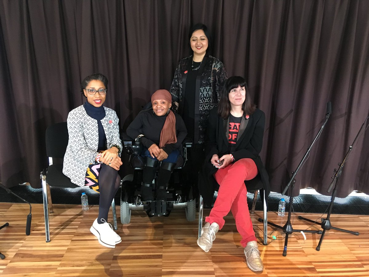 WoW (Women of the World Festival) panel debate on Privilege (Mar18)